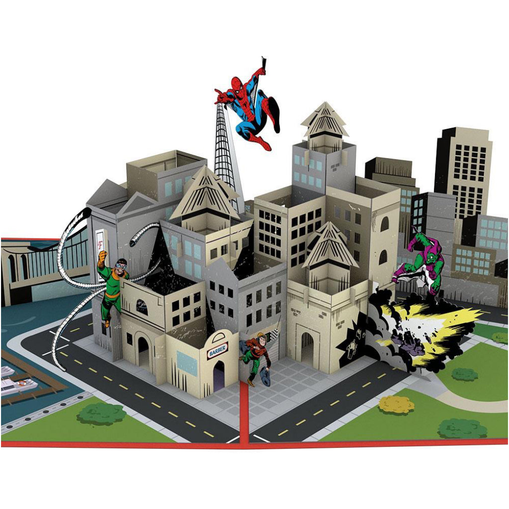 Spiderman You're Amazing 3D Pop Up Card