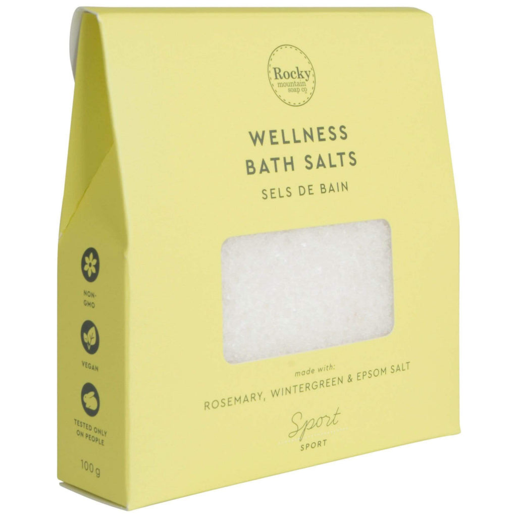 Sport Wellness Bath Salts Angle