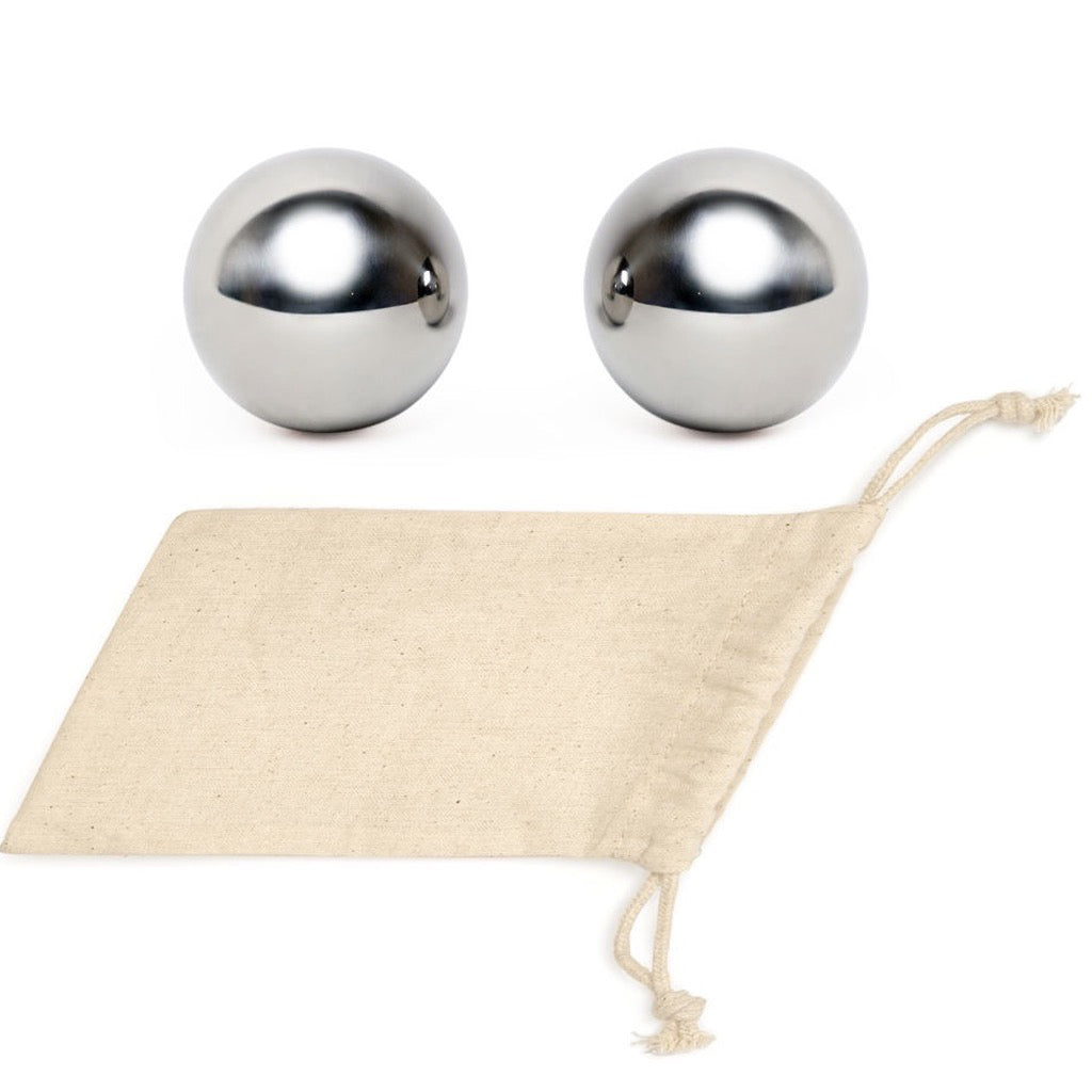 Stainless Steel Whiskey Balls Set of 2
