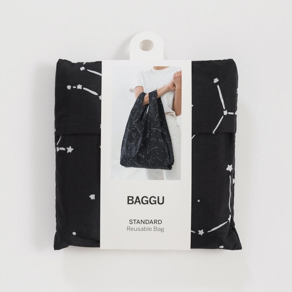 Standard Baggu Black Constellation In Package