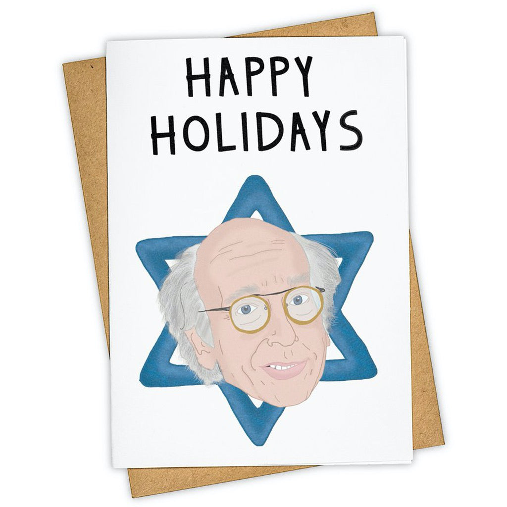 Star of Larry David Card