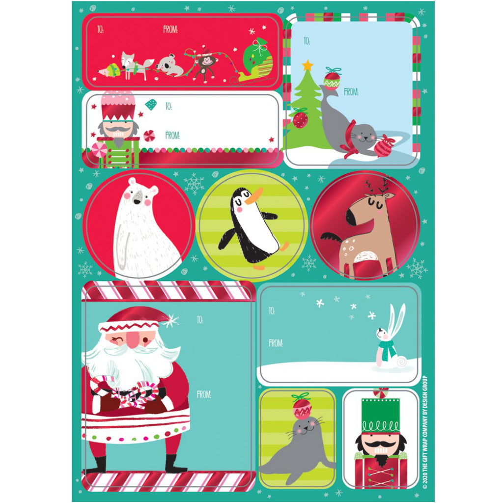 Storyland Sentiments Label Sheets