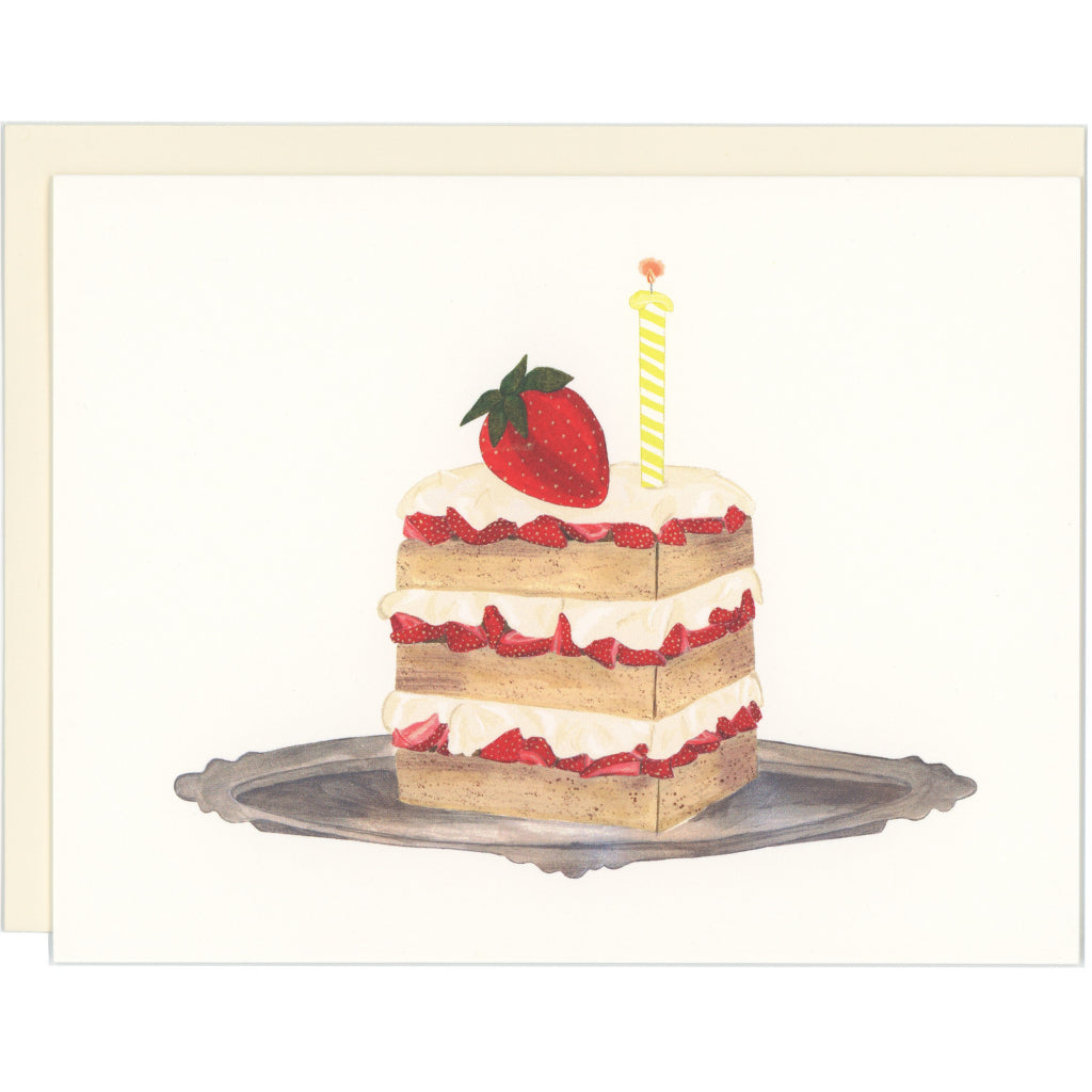Strawberry Shortcake Birthday Card