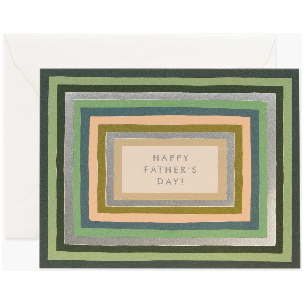 Striped Father's Day Card