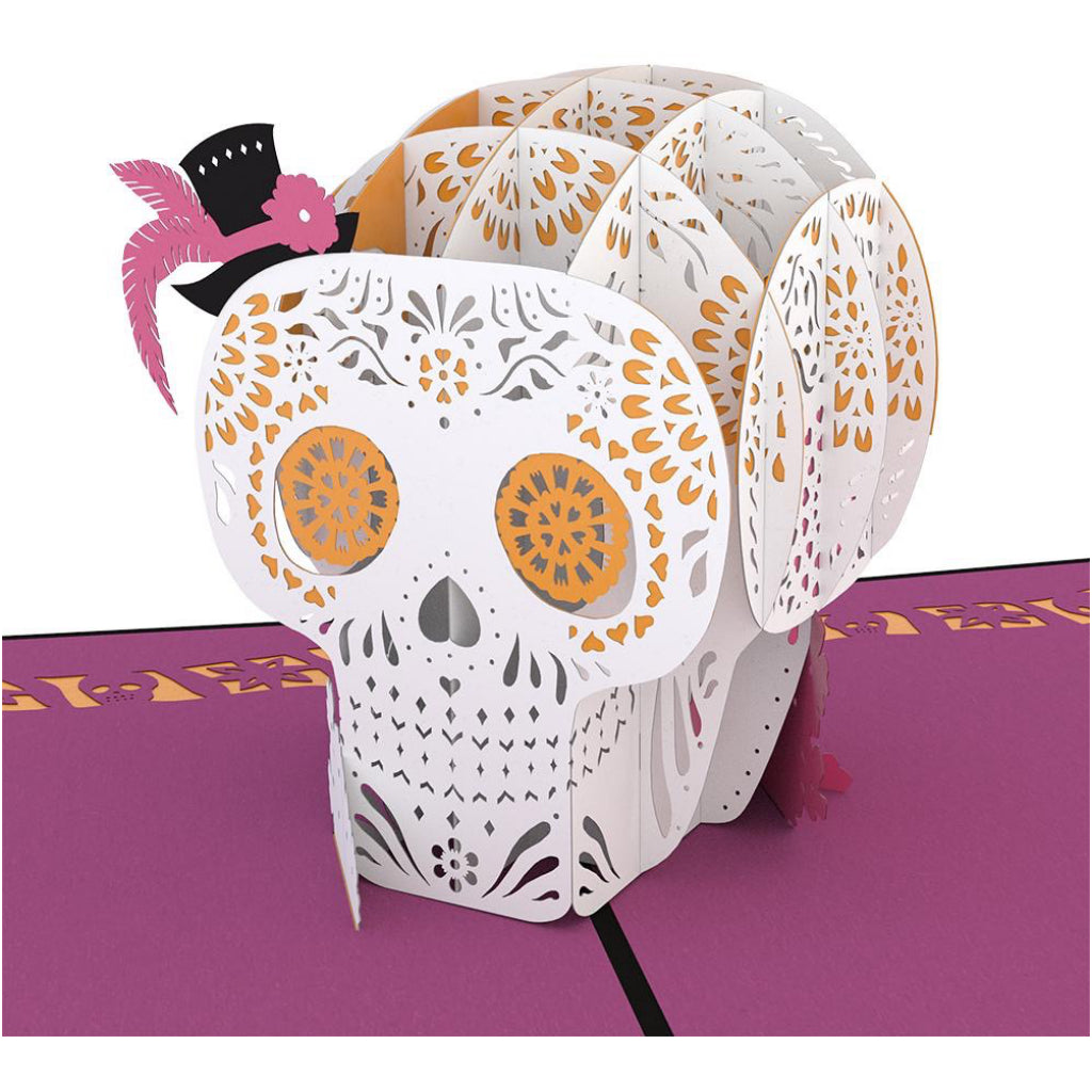 Sugar Skull 3D Pop Up Card