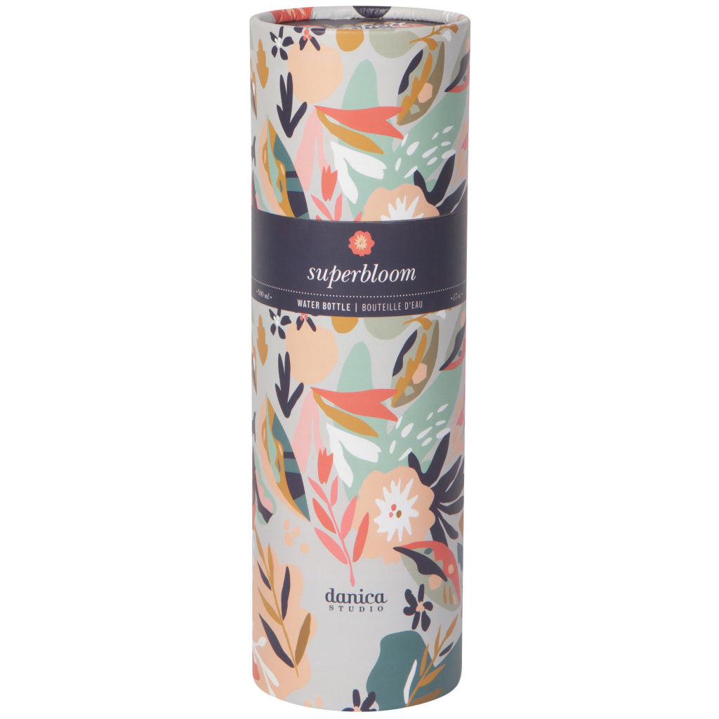 Superbloom Water Bottle Packaging