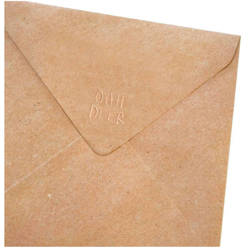 Surprise Birthday Square Card Envelope