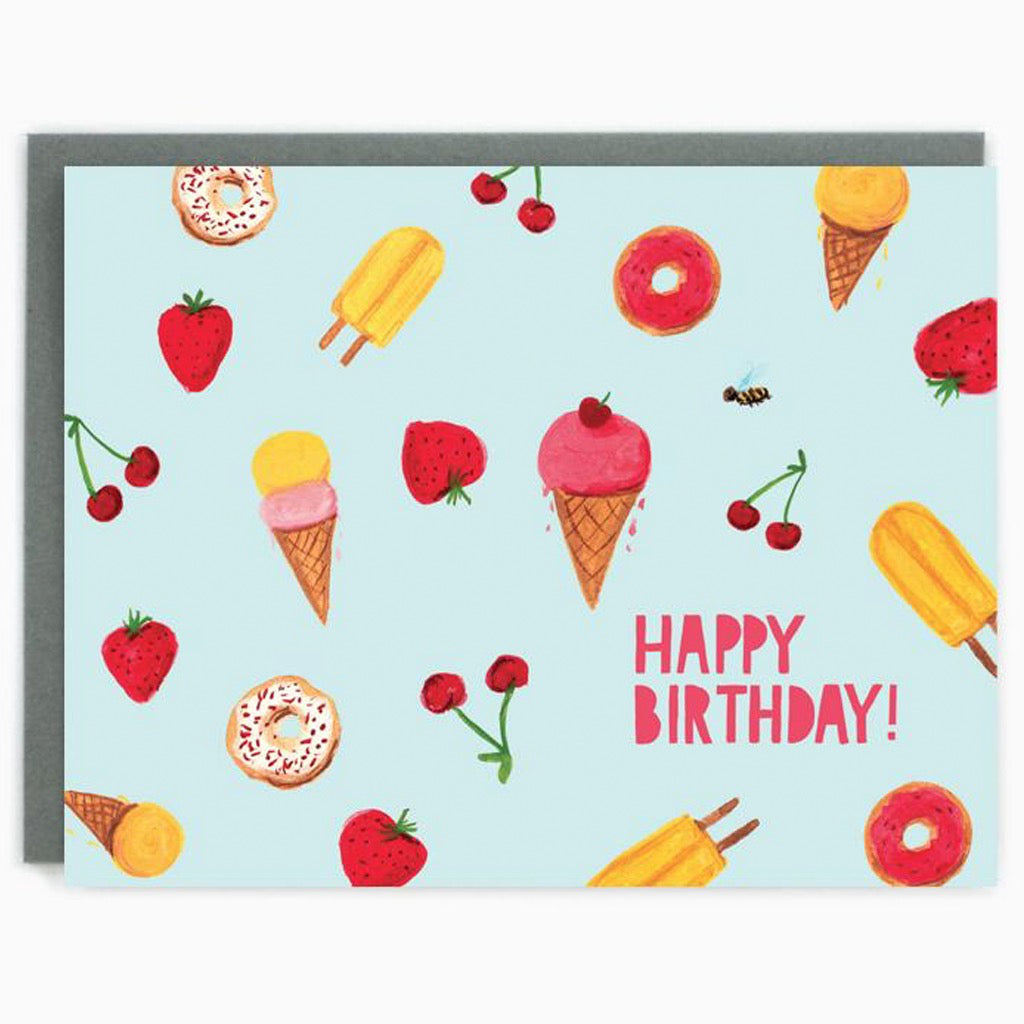 Sweets Birthday Card