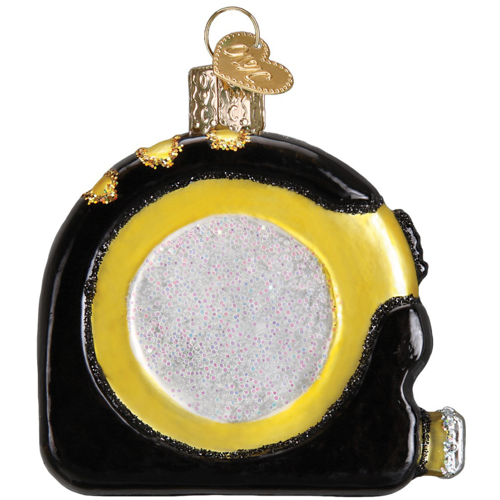 Back of Tape Measure Ornament.
