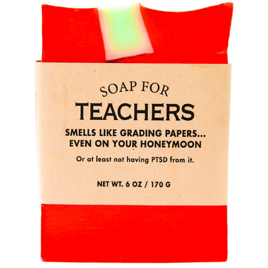 Teacher Bar Soap
