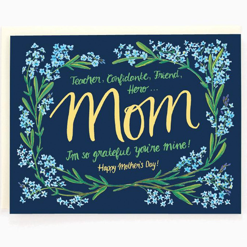 Teacher Mom Card