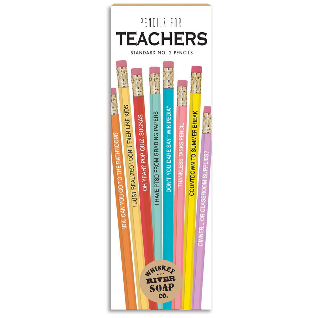 Teacher Pencil Set Packaged