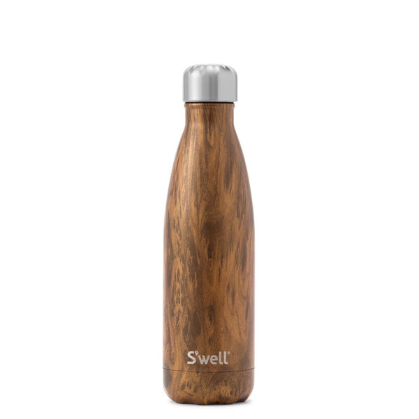 Teakwood Water Bottle 17oz 500ml