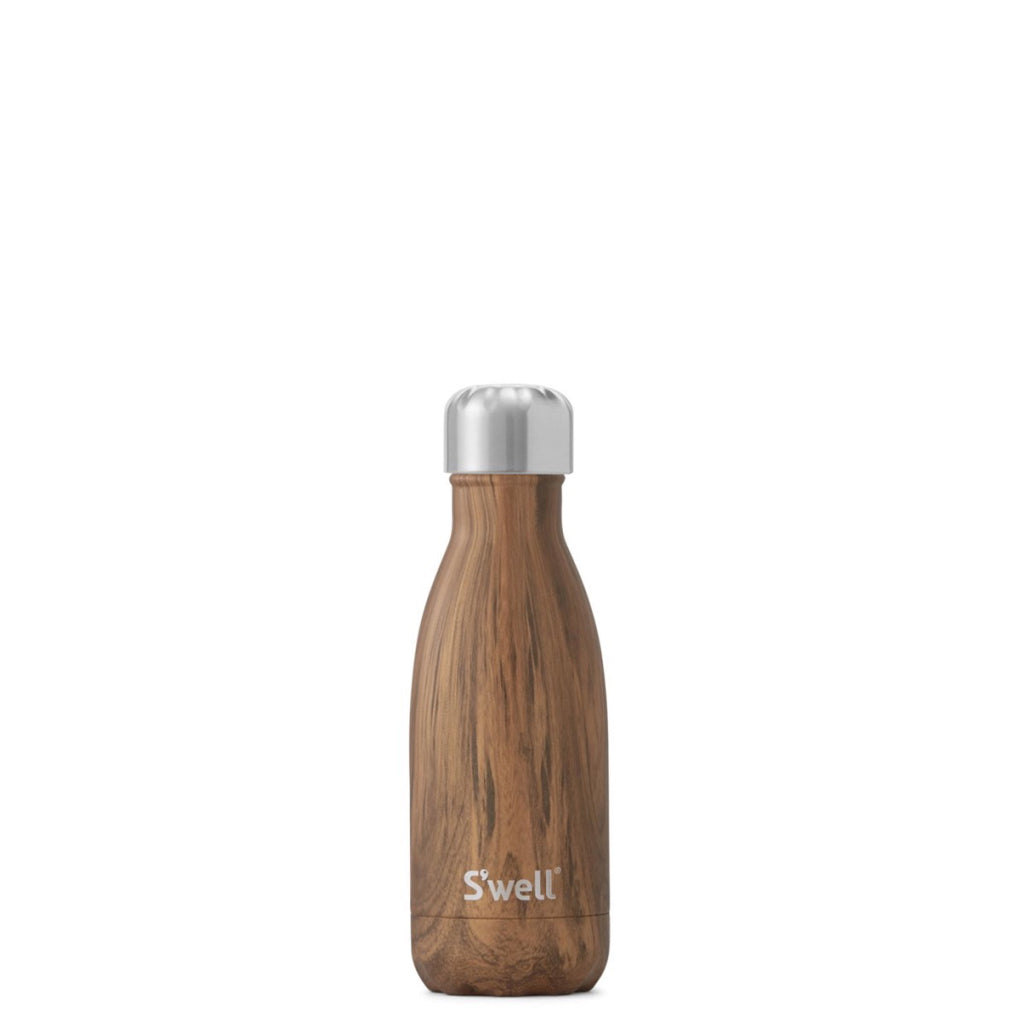 Teakwood Water Bottle 9oz 265ml