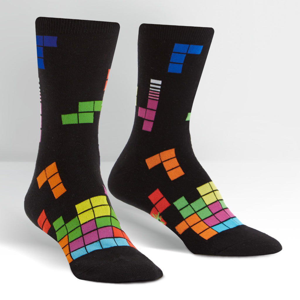 Tetris Action Shot Women's Crew Socks