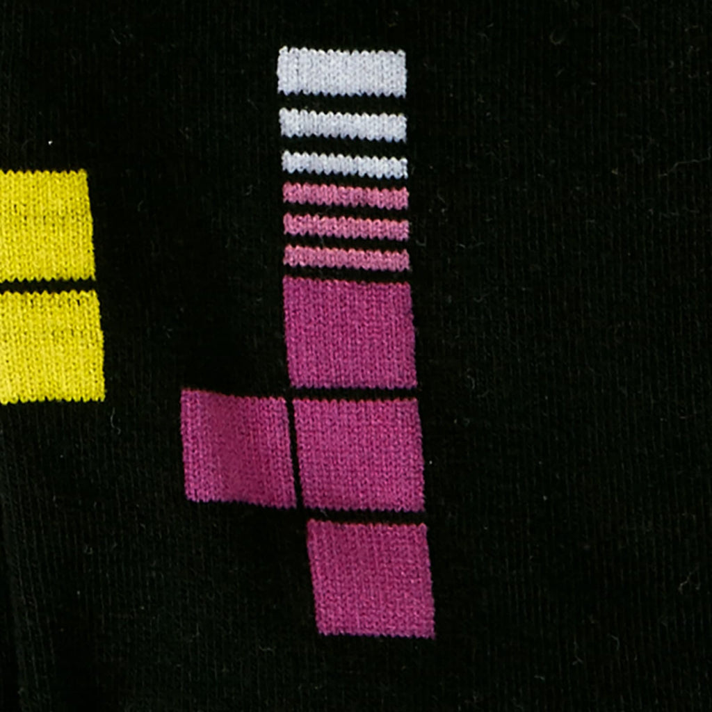 Tetris Action Shot Women's Crew Sock Detail