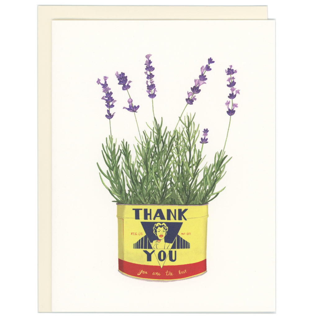 Thank You Lavender Card