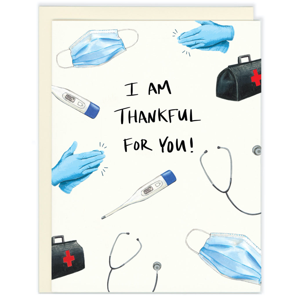 Thankful For You Health Care Card