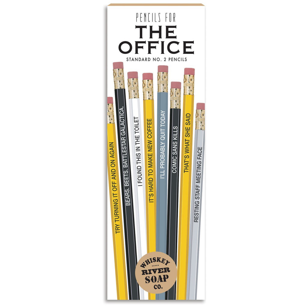 The Office Pencil Set Boxed