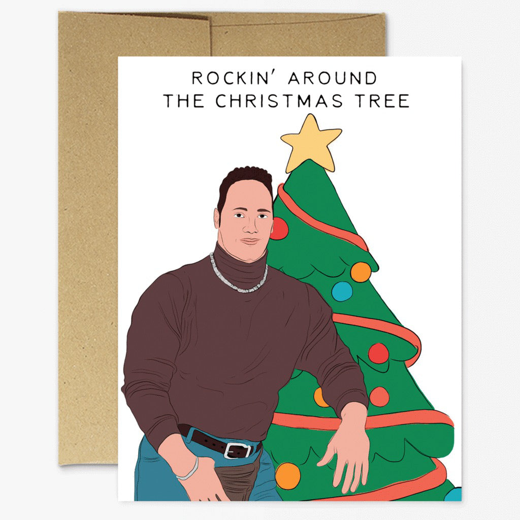 The Rock Christmas Card