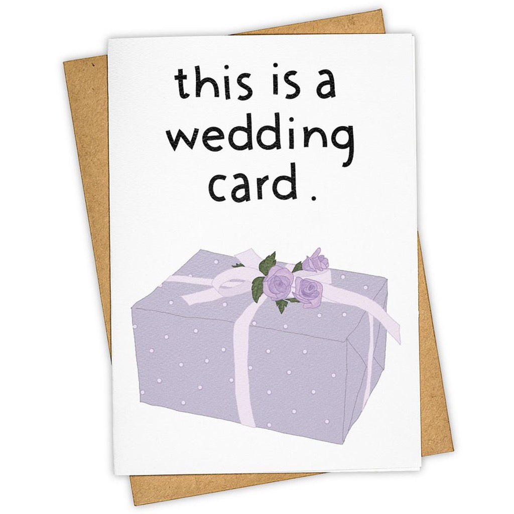 This Is A Wedding Card