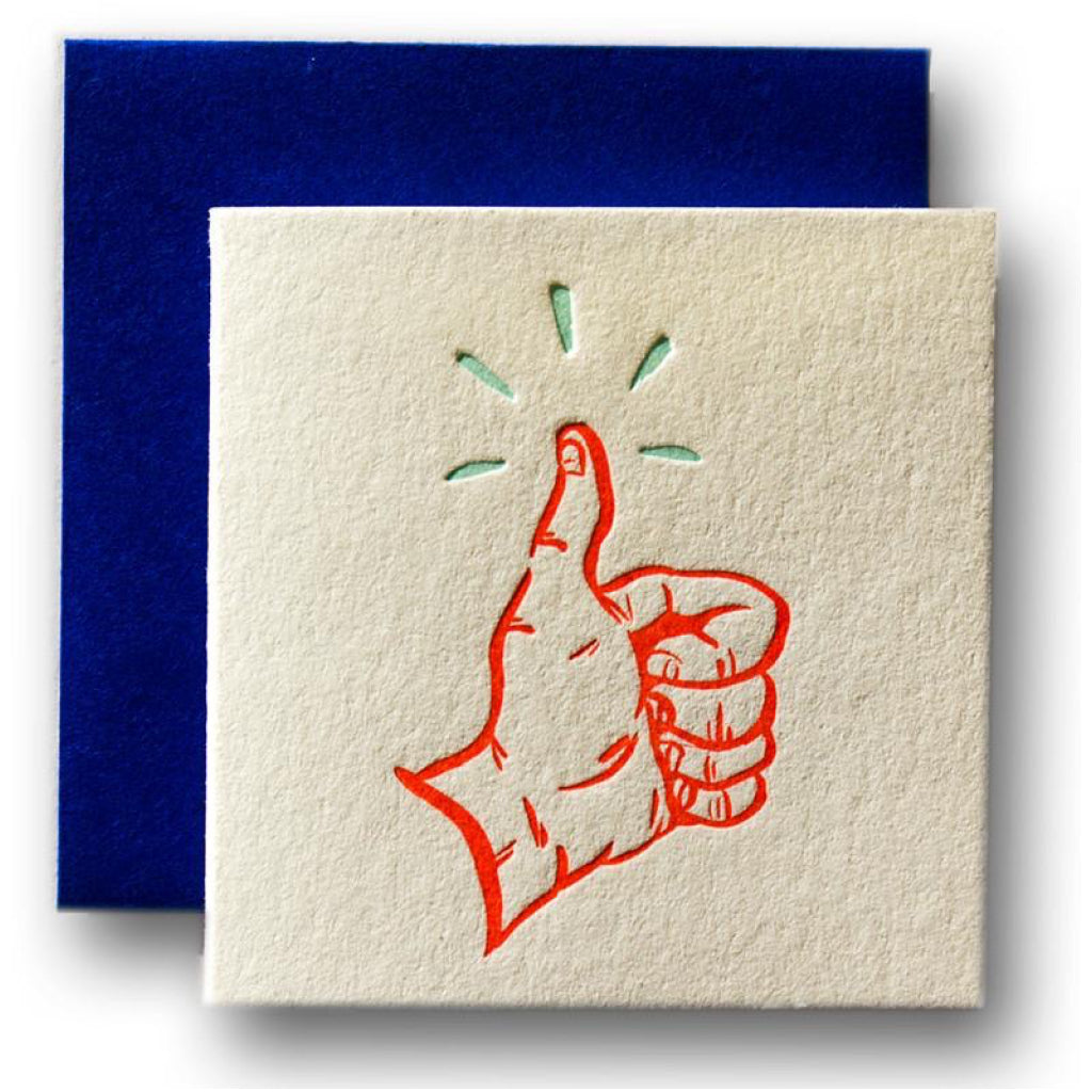 Thumbs Up Tiny Card