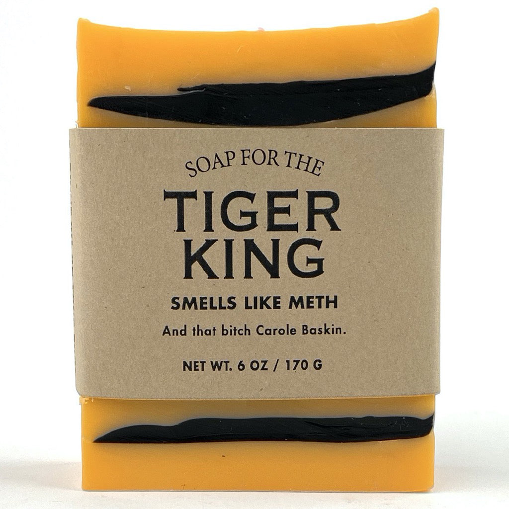 Tiger King Bar Soap – Pandemic Line