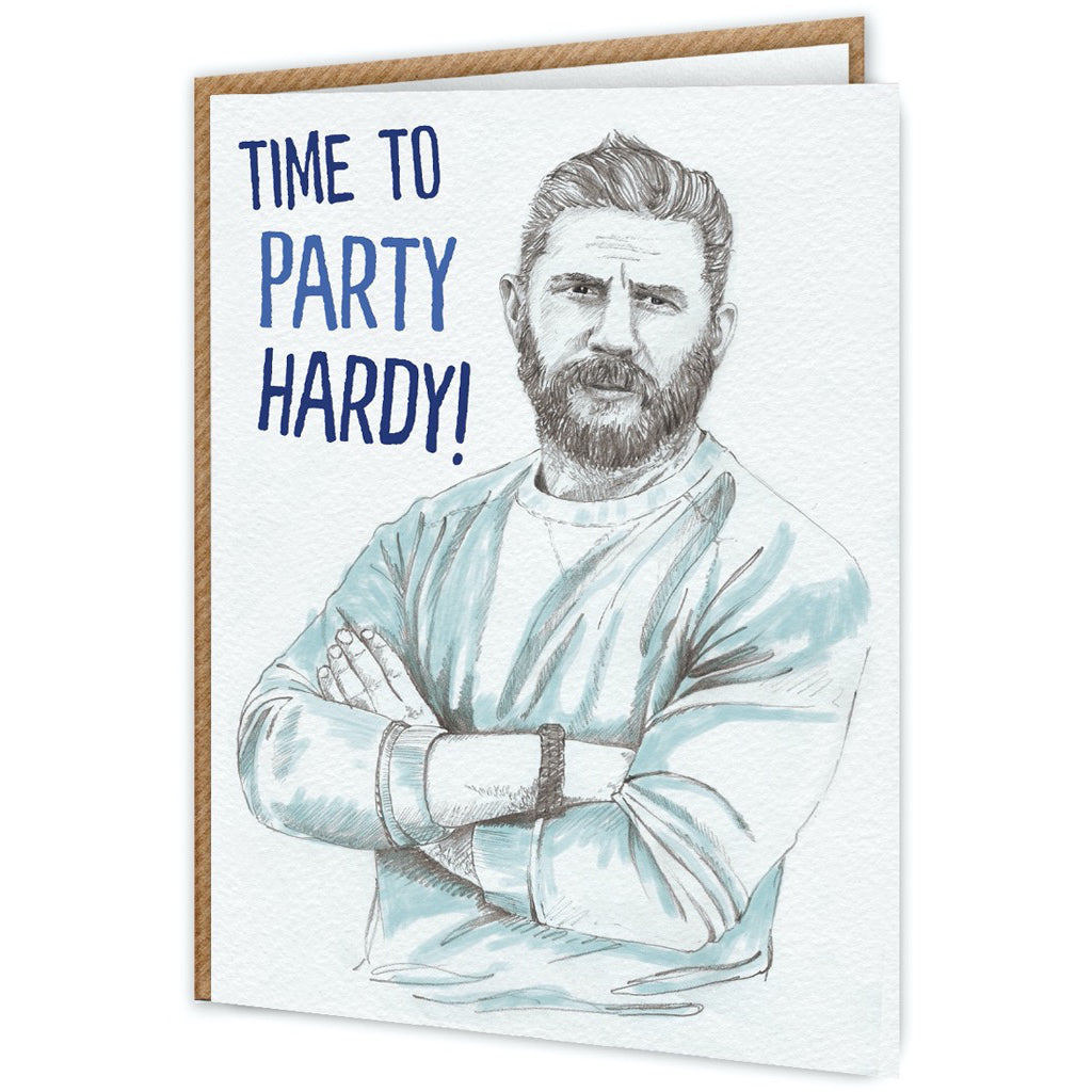 Tom Hardy Birthday Card