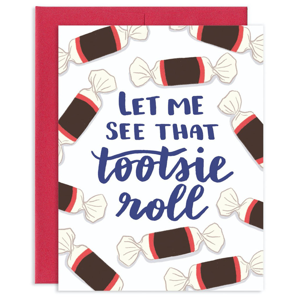 Tootsie Roll Card
