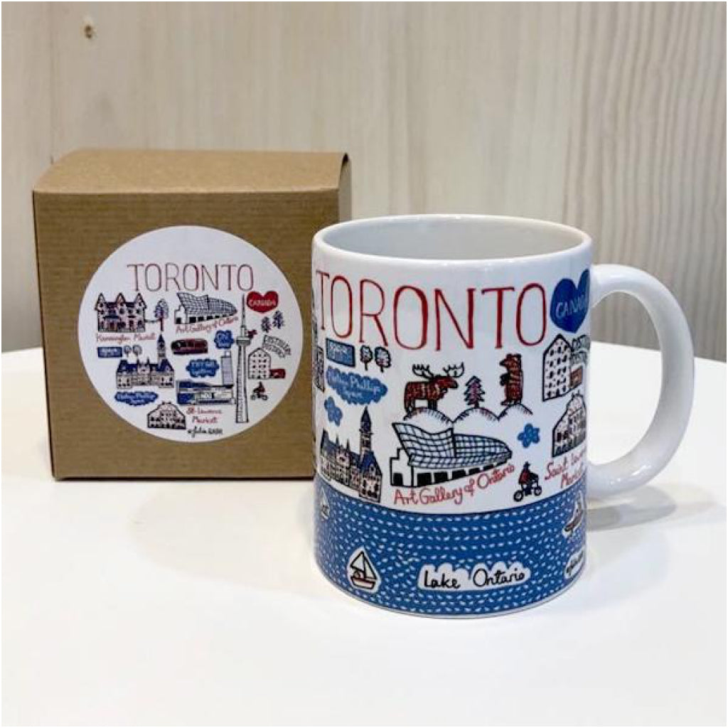 Box of Toronto Cityscape Mug.