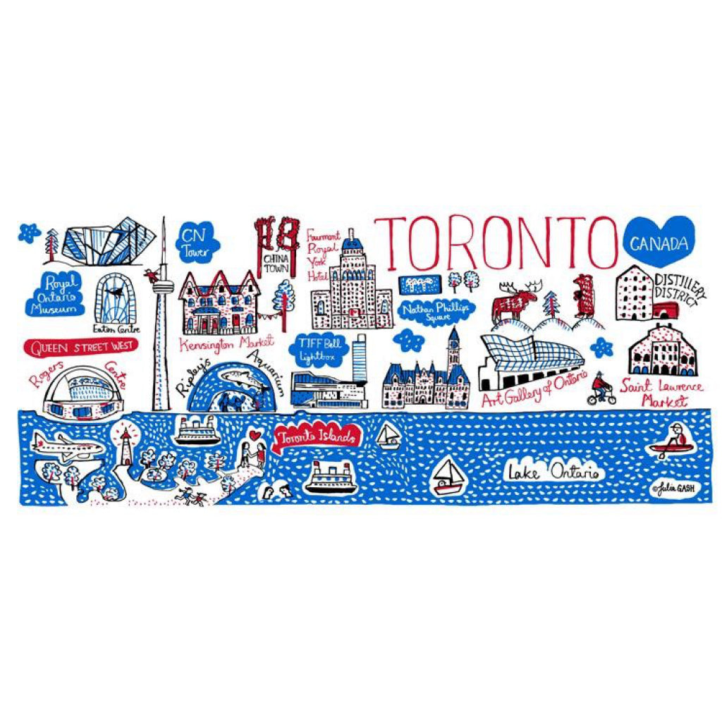 Artwork of Toronto Cityscape Mug