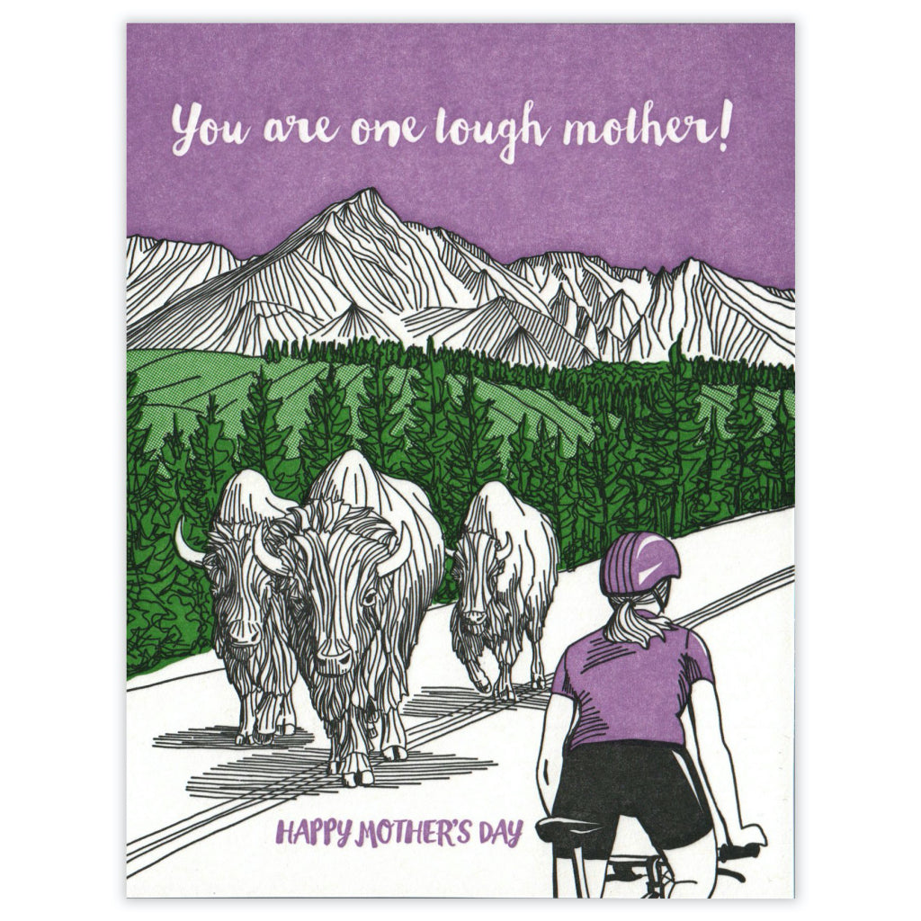 Tough Mother Mother's Day Card