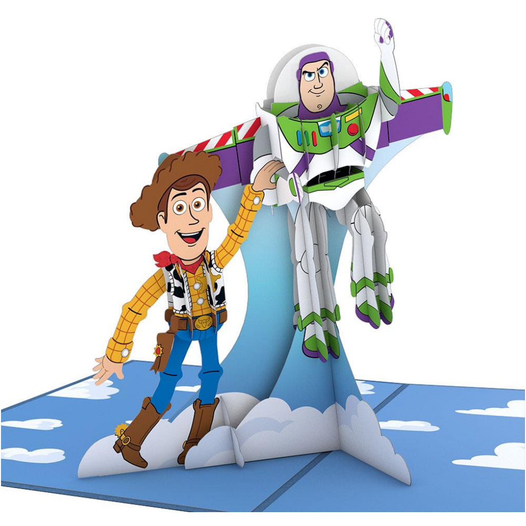 Toy Story Woody & Buzz 3D Pop Up Card