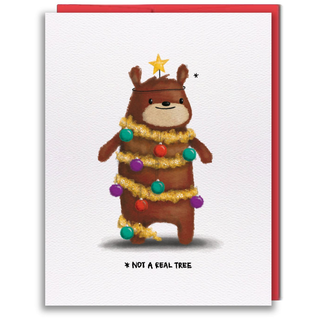 Tree Bear Holiday Card