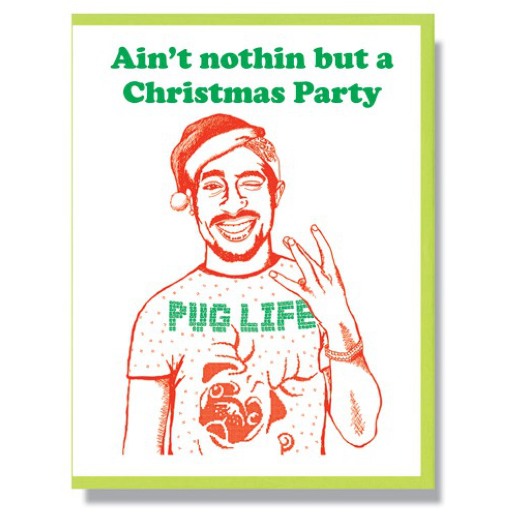 TuPac Shakur Holiday Card