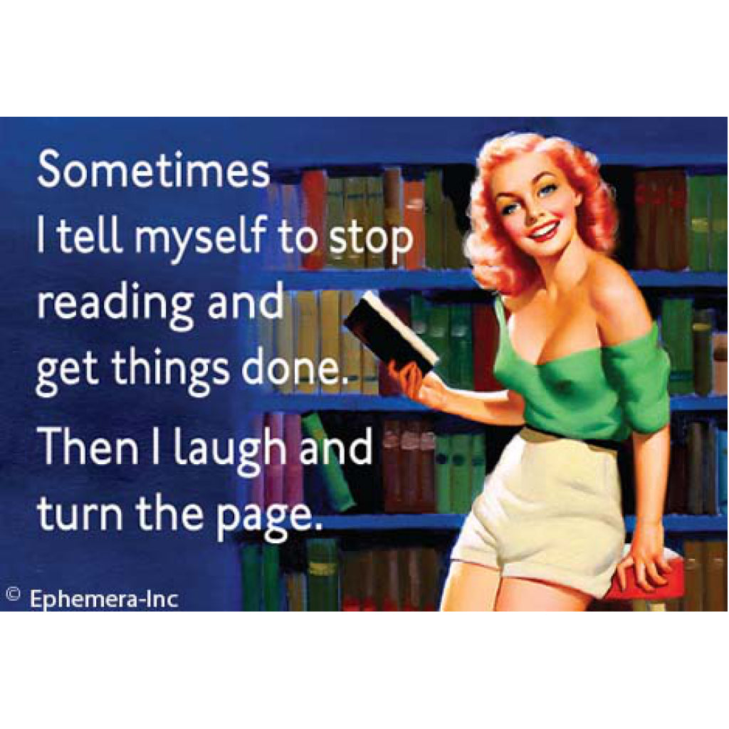 Turn The Page Magnet