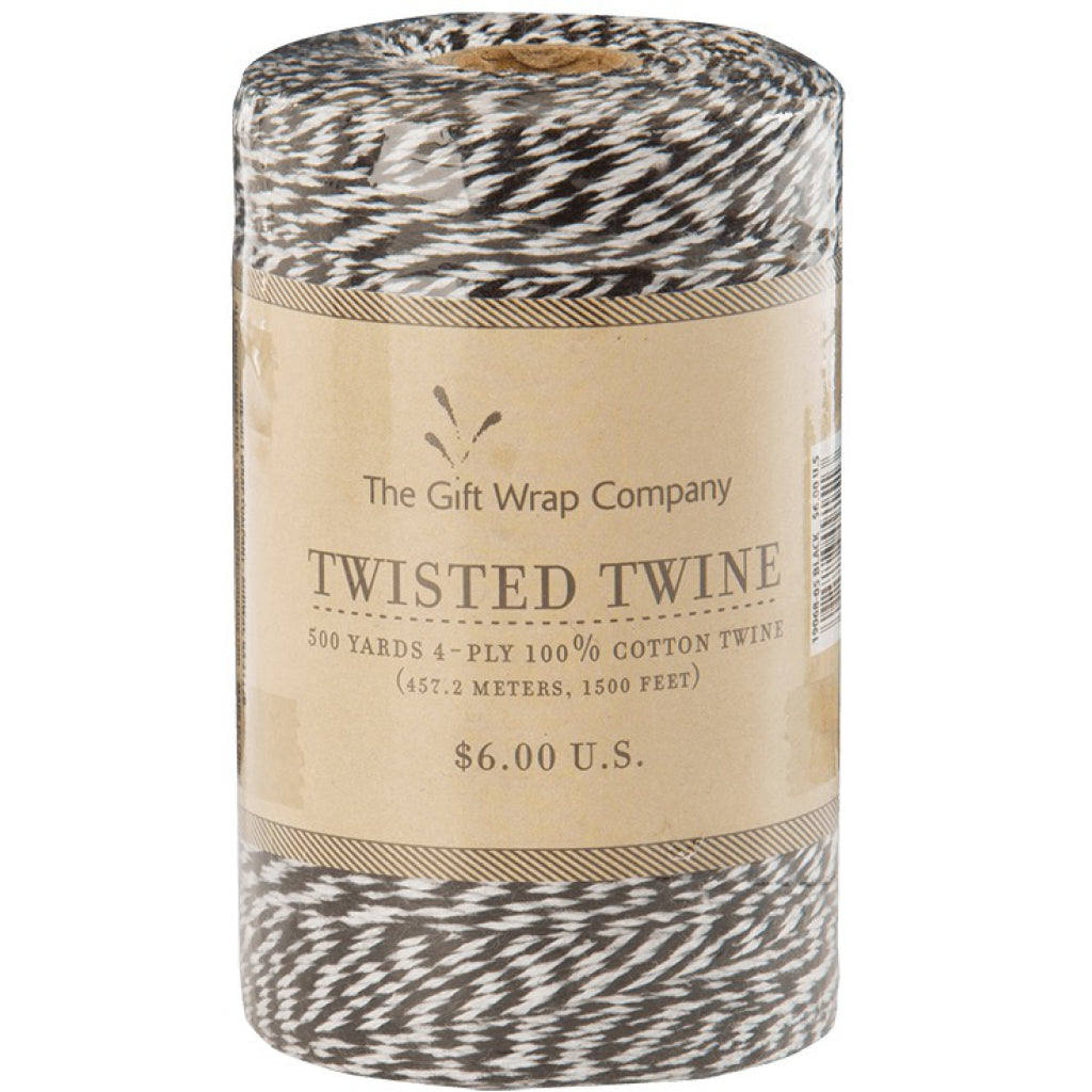 Twisted Twine Black Baker's Twine