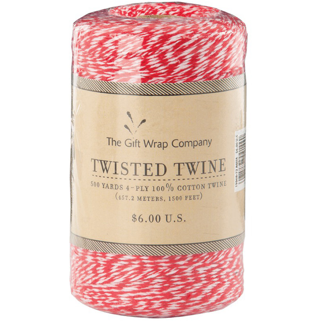 Twisted Twine Red Baker's Twine