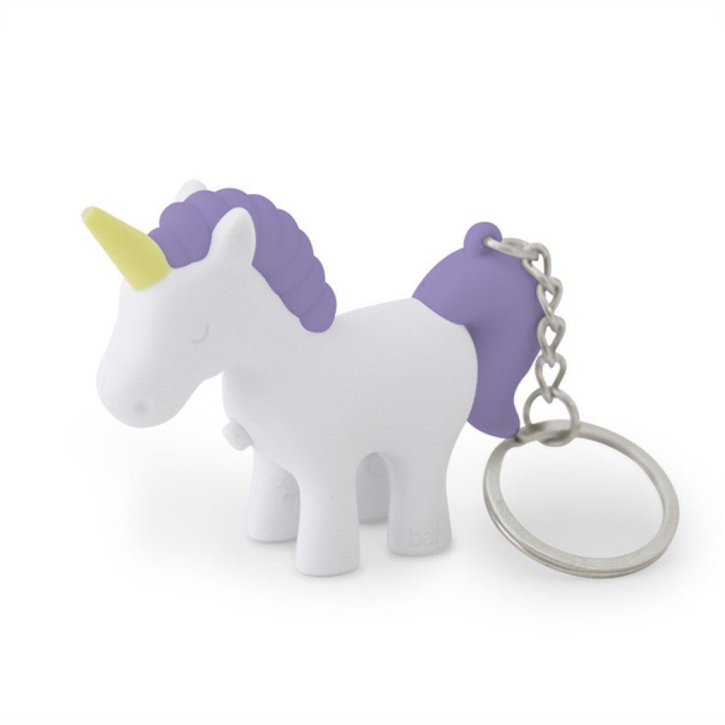 Unicorn Light & Sound Keychain