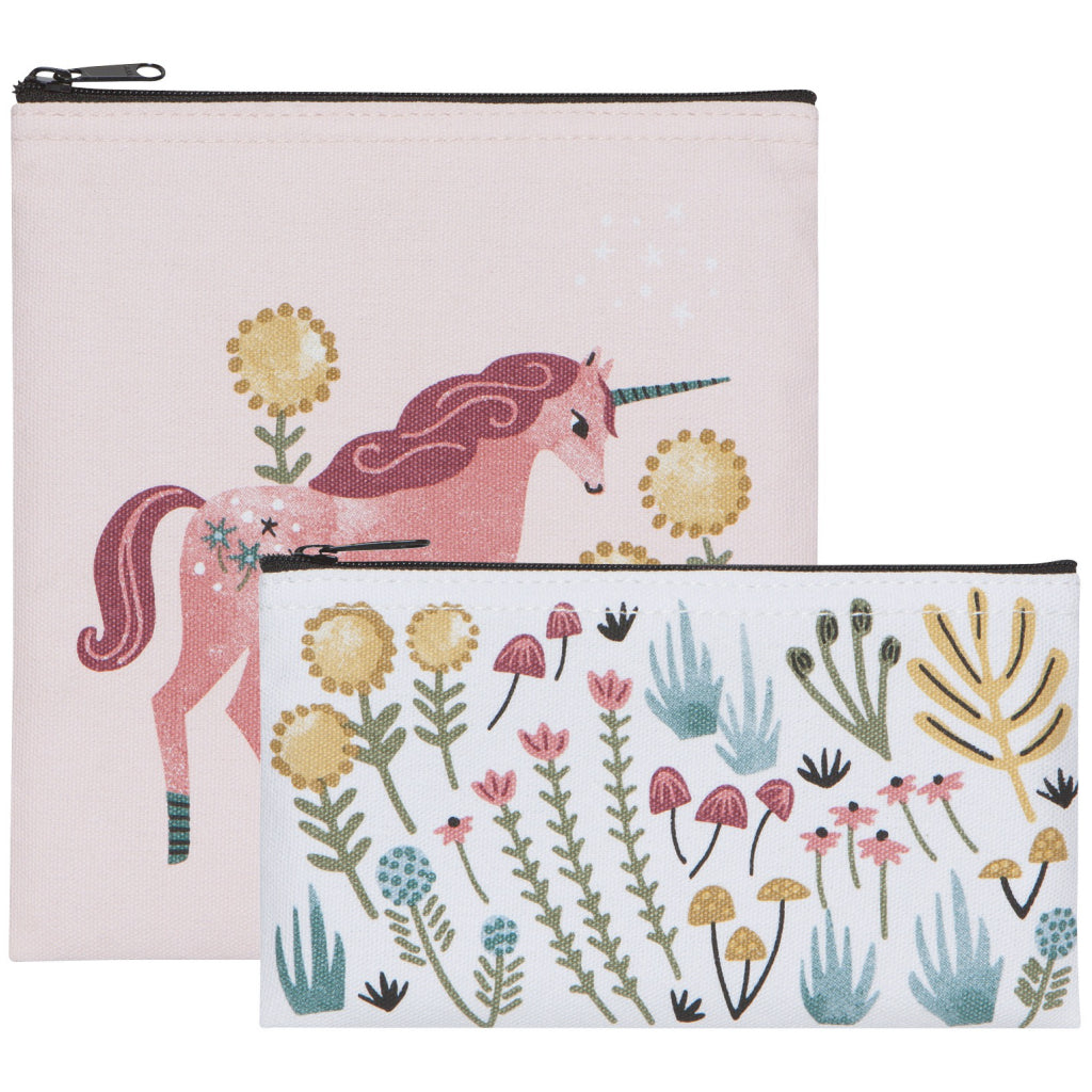 Unicorns Snack Bags Set Of 2