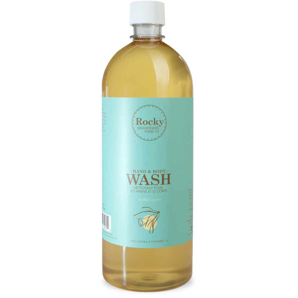 Vanilla Coconut Body Wash Refill