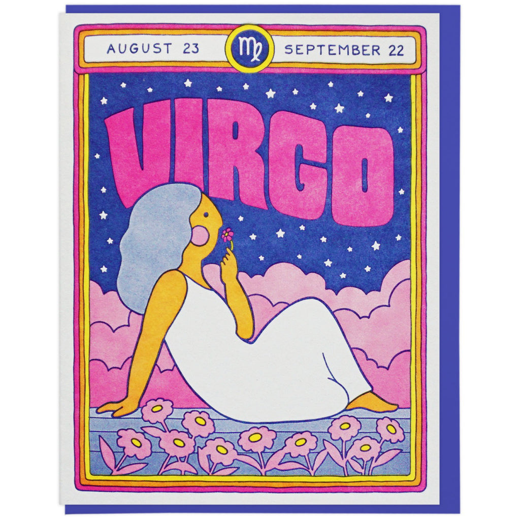 Virgo Birthday Card