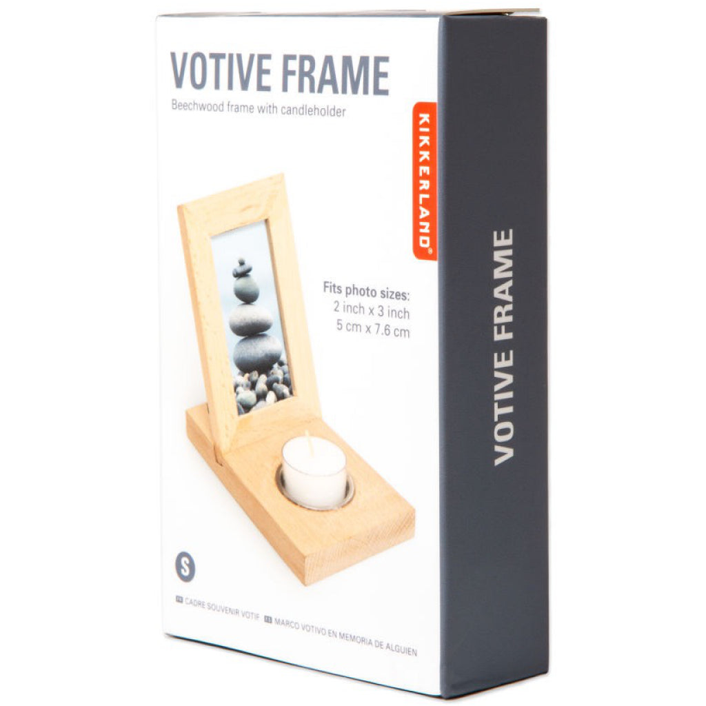 Votive Frame Package Side View