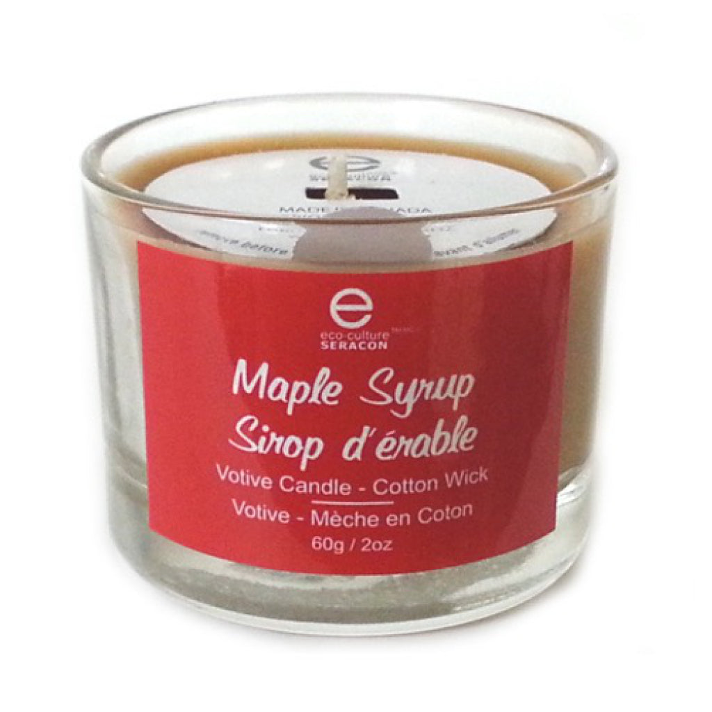 Votive Maple Syrup Candle