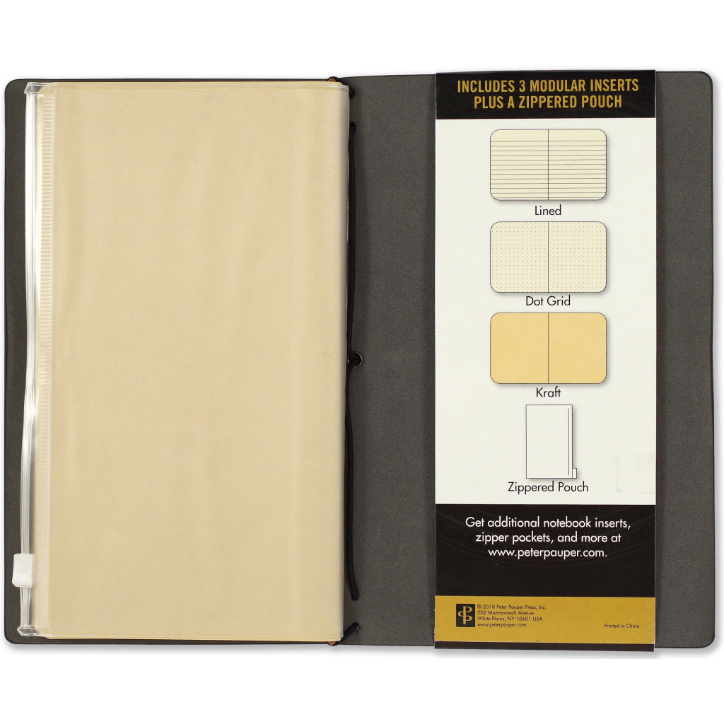Packaging of Voyager Journal Black.