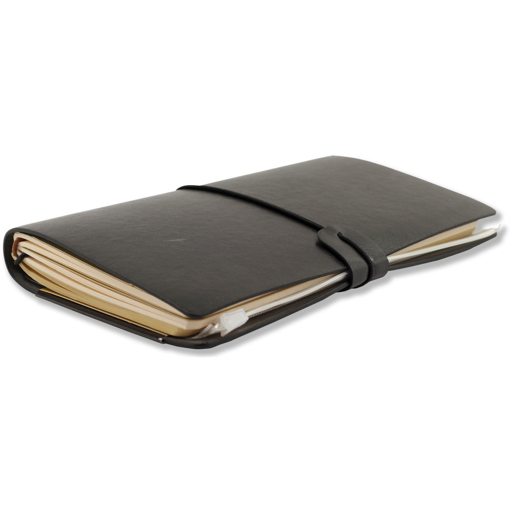 Side view of Voyager Journal Black.
