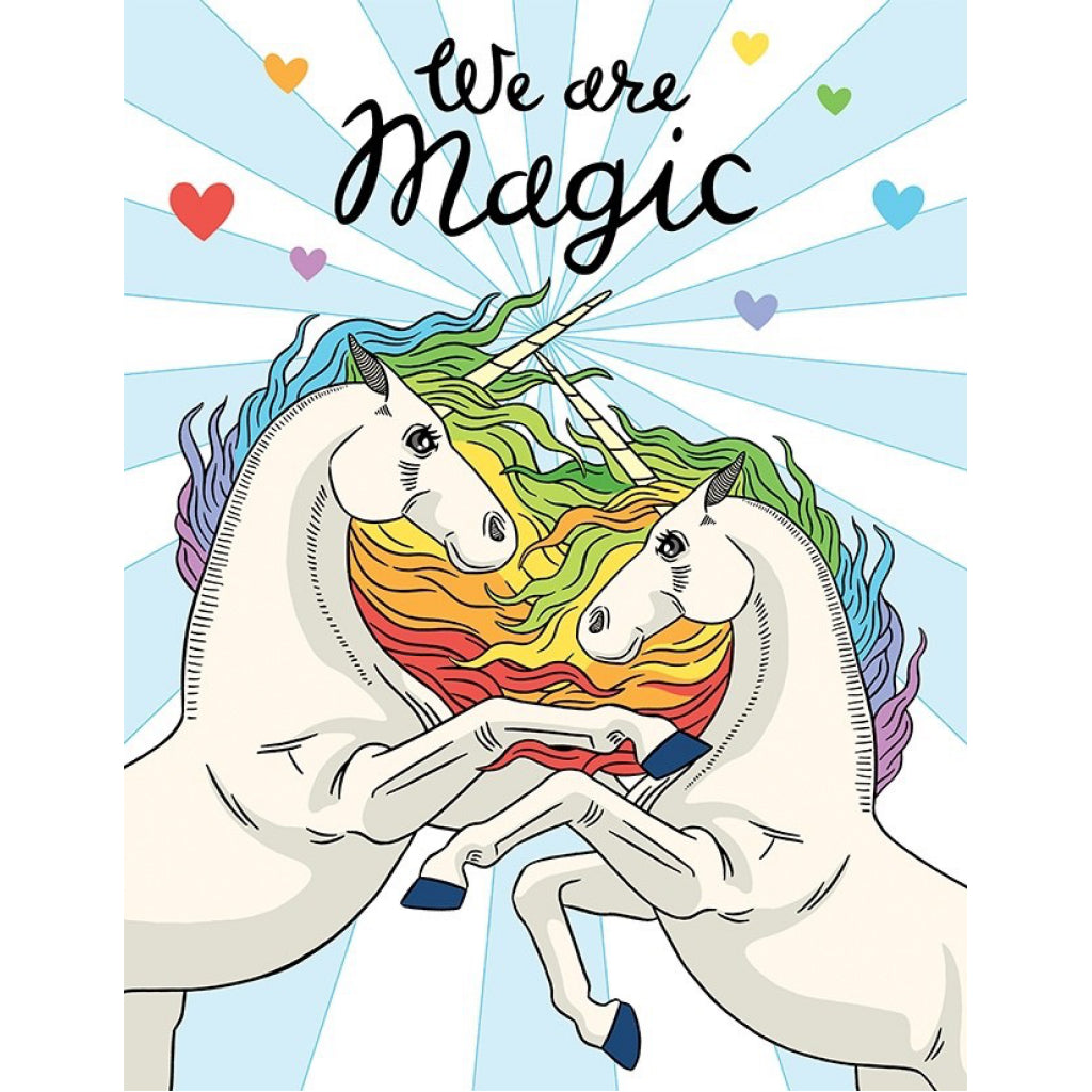 We Are Magic Unicorns Card.