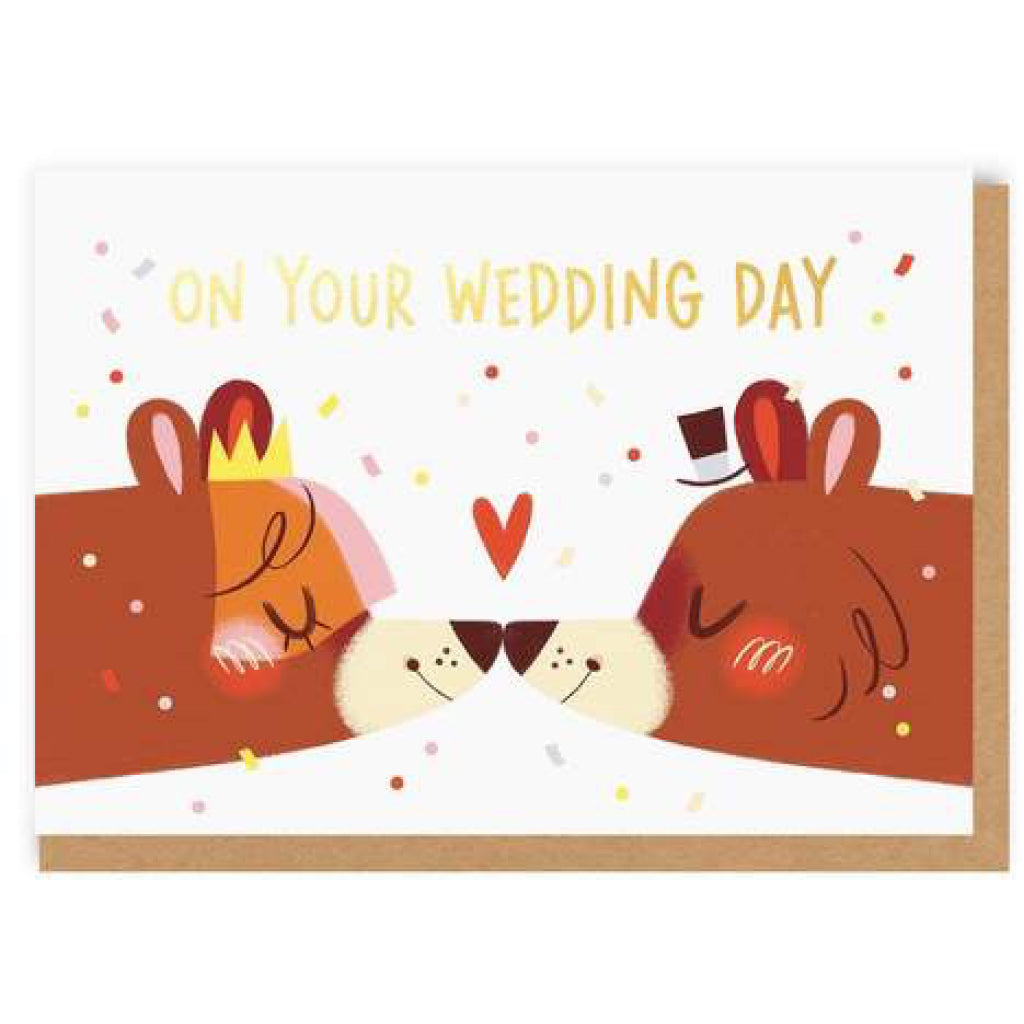 Wedding Bears Card