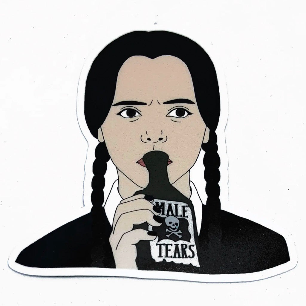Wednesday Addams Sticker