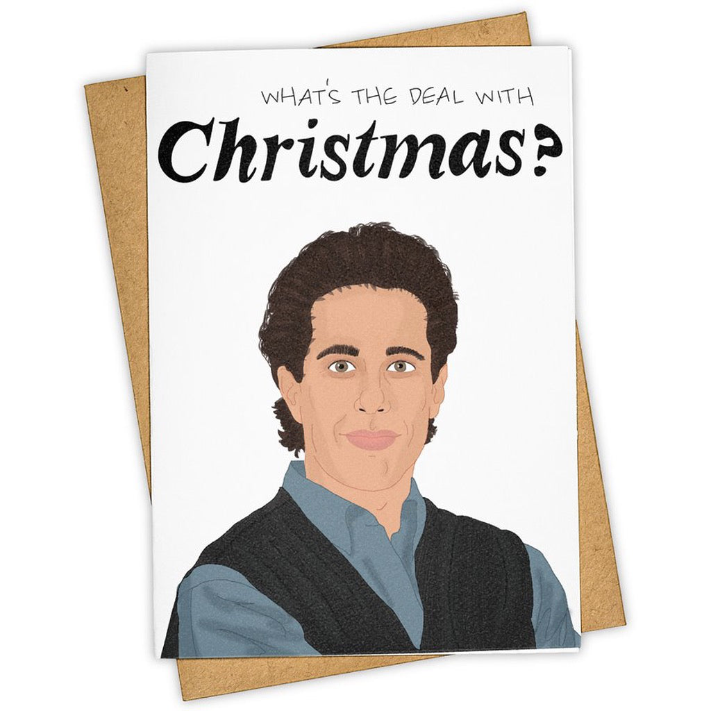 What's The Deal Seinfeld Holiday Card